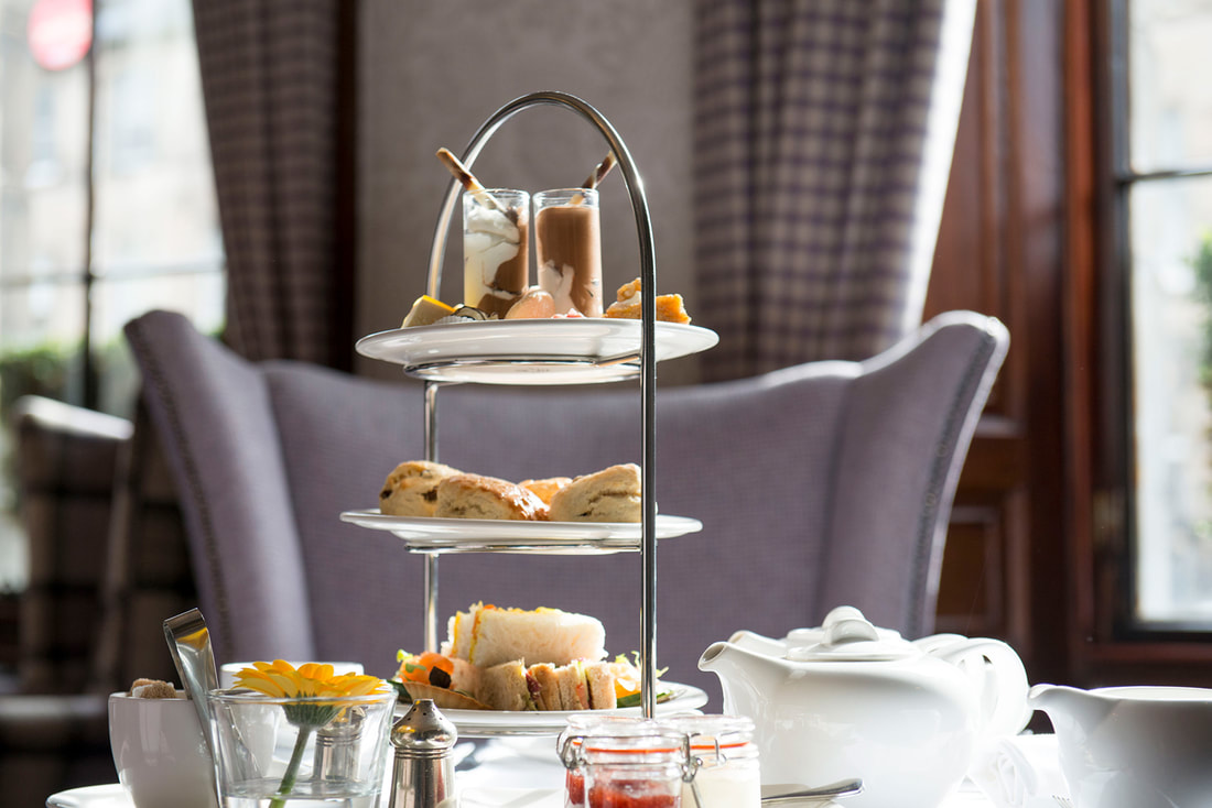 Afternoon Tea  at The Howard Hotel in Edinburgh
